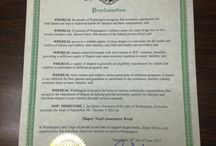 2015 - Diaper Need Awareness Week Proclamations / NDBN members call upon their governors, mayors and other elected officials to declare Sep 28 - Oct 4, 2015 Diaper Need Awareness Week