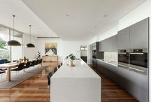Kitchen dining layout