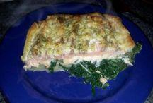 Recepten / Allerlei recepten met vis en vis relateerde produkten