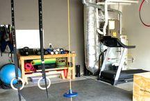 Huis fitness