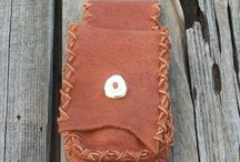Leather belt bags / hip bags / We will be sharing our leather belt bags / phone bags here. Some will be plain some beaded. We made made to order custom phone bags so if you need a different size contact us on our website or online store.