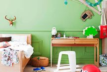 KIDS...Rooms & Spaces / by Amy