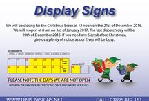 Display Signs