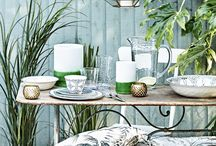 Stylish Outdoor Spaces / Summer means more time on the patio! Get your outdoor space looking ship shape and party-ready with Sainsbury's Home.