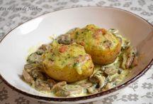 Pommes de terre reblochon lardons