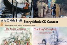 Story/Music CDs / Story and Music CDs for young children.