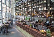 *HORECA / Inspiraties - restaurant, cafe, hotel, uitgaansgelegenheden interieur en sferen