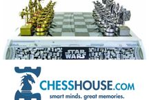 Themed Chess Pieces & Sets / From Star Wars to The Lord of the Rings, it's fun to play such a great game with some of your favorite characters!