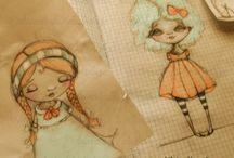 "My ""picmonkeyed"" art / digitally colored sketches of mine. ©dianeduda/dudadaze"