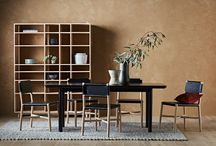 "GlobeWest | Seed Furniture Collection / ""Seed is a collection of timeless and simple home basics that appeal to all ages, are versatile, and are inspired by Danish modern styling with a touch of Japanese simplicity. The light tones, clean profiles, natural materials plus the richness of leather means that this range has huge scope for designers and home owners to style to their hearts content!""  (Keti Lytras, GlobeWest Design Manager)"