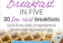 Ontbijt low carb