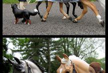 Breyer hästar