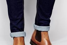 Chelsea Boots. (Shoes) / Close fitting, ankle-high boots that date back to the Victorian era, but keep on walking side-by-side with Style!