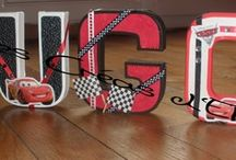 Des lettres et des mots / Idées de lettres décoratives pour personnaliser sa décoration intérieure.
