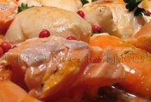 Poissons et crustacés / Recettes à base de poissons, de crustacés, de coquillages...