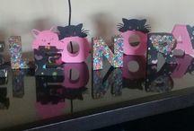 letras 3 d cat