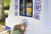 Bauern Malerei
