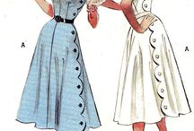 Vintage Sewing Pattern 1950s