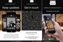Our App for Hard Days Night Hotel / we also have our own Hard Days Night Hotel App, which can be downloaded from your App Store by searching for Hard Days Night Hotel , Liverpool . The App is compatible for both smart phones and androids and features a whats local section as well as an image gallery and restaurant and bar information / by Hard Days Night Hotel, Liverpool. UK