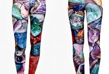Crystal Inpired Yoga Wear / HEALING CRYSTAL Inspired Leggings. All our patterns are images taken directly from different crystals. Mother Nature's Gift! FREE STANDARD DOMESTIC SHIPPING #leggings #fashion #crystals #healing #yogapants #yoga #fitness #clothes #activewear