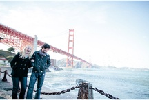 Photo ideas  / Ideas for engagement photos, the less cheese the better, but VERY san francisco.