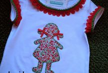 Costura Baby;Camisetas Applicaciones, vestidoss.. / by Maribel HM