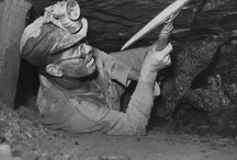 Coal Miners in Kansas / Photographs of coal miners and mining in Kansas history.
