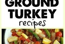 Healthy Turkey Recipes / Think beyond the Thanksgiving turkey and turkey sandwiches!  This board will highlight healthy turkey recipes from all the different cuts of meat, including turkey tenderloin, turkey thighs, turkey liver, turkey breast, and ground turkey.  There are so many possibilities, from turkey burgers with global flavors to grilled turkey tenderloin salads to curry turkey samosas.