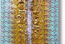 Collage /Assemblage Art / Collage - Assemblage  - [ many works are available from the artist ]