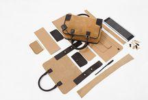 Leather bag's handicraft