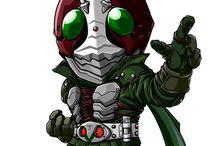 Kamen Rider Vector Design