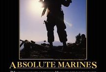 The Few. The Proud. The Marines / by Rosanna Handy