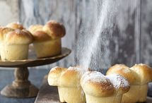 doces pães