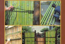 Cercas en bambu