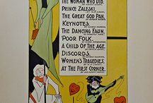 Turn of the Century Original Posters / These are a few of the original antique posters that are in the gallery at the time the image is pinned.   You can also check out   www.thevintageposter.com   to see if it is still available.