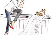 Ilustraciones chic <3
