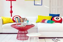 Bright interiors / by AMAZE by Amy