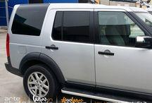 Land Rover Discovery 3 - Oscuramento Vetri / #oscuramentovetri #vetriscuri #pellicolaauto #pellicolavetriauto #carwindowfilm #carfilm #apa #apafilm #wrapinstudio #arteinstudio #vetroscuro