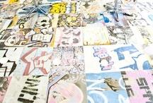 Graffiti and furniture pattern