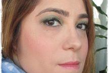 Look verde & dorado / Look en tonos verdes y dorados con paleta de Too Faced