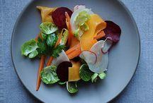 salads / by Mary Privette