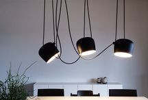 Light fixtures / different designers, shapes, use