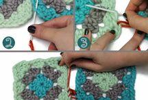Tricô e Croché - Quadrados e Outras Formas