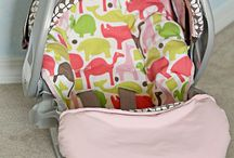 car seat cover / by Holli Thompson