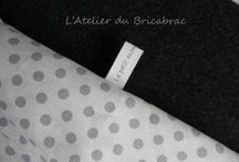Étiquette tissu