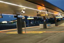 Regional Rail - West Footscray / 1700 metres of Austube Custom RRL 95 has been recently installed into various platforms and pedestrian spaces as part of the recent upgrade of  West Footscray Regional Rail. Sleek Smooth continuous lines provide efficient lighting achieving 240 lux on the platform areas.