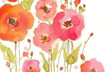 Watercolor inspiration / by Barbara Skovensky