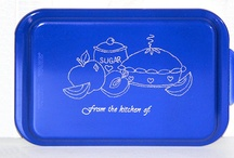 I make Personalized Cake Pans / Personalized 9x13 Aluminum Cake Pans... Always get your pan back!  http://www.slyfoxart.com / by Doug Stainbrook