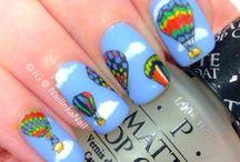 Realistic nail art