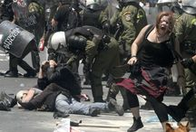 People Got the Power / Photos captured from big  Riots of the Greek people against austerity, I.M.F. and E.U. during 2010-until our days